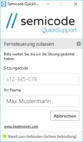 Semicode Quicksupport